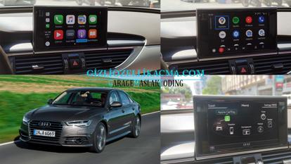 2015 ve sonrası audi a6 apple carplay ve android auto